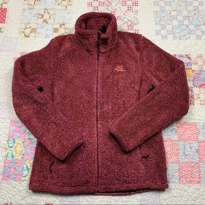 WOMENS THE NORTH FACE FLEECE JACKET